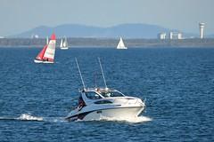 800_4867 (Lox Pix) Tags: queensland qld australia catamaran trimaran hyc humpybongyachtclub winterbash loxpix foilingcatamaran foiling bramblebay sailing race regatta woodypoint boat