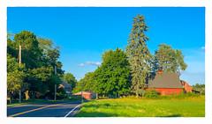 Country Road (Timothy Valentine) Tags: 2018 fbpost centralstreet 0718 large hct sky farm trees eastbridgewater massachusetts unitedstates us