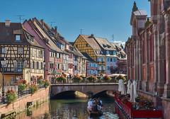 Town of Colmar (Naval S) Tags: france alsace sb30526 canals bridge cozy hautrhin colmar