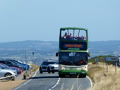 Seaford & District TA9 (SFZ696) on Eastbourne Sightseeing at Beachy Head - 2nd August 2018 (Alex-397) Tags: bus buses transport england uk britain eastbourne sussex doubledecker