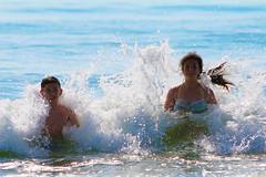 (Alin B.) Tags: alinbrotea mare sea water waves splash bath mareaneagra blacksea july