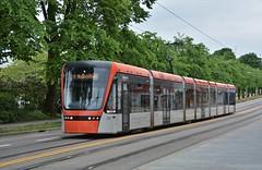 Bergen, Kaigaten 10.06.2018 (The STB) Tags: bybanen bergen norge norway publictransport citytransport öpnv kollektivtrafikk offentligtransport trikk tram tramway tranvía strassenbahn strasenbahn