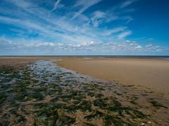 Holme Beach (davepickettphotographer) Tags: norfolk uk eastern england eastofengland coast coastline sky clouds beach seaside holme kingslynn westnorfolk