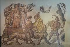 Triumph of Bacchus (tommyajohansson) Tags: madrid españa spain spanien semester ferie vacances weekendbreak urlaub tommyajohansson geotagged musem archeologicalmuseum mosaic mosaics mosaik romanmosaic romerskmosaik