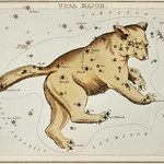 Sidney Hall's (1831) astronomical chart illustration of the Ursa Major. Original from Library of Congress. Digitally enhanced by rawpixel. thumbnail