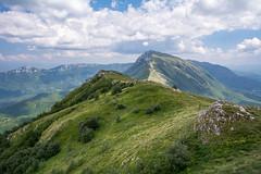 Falcon's Rock (Milos Golubovic) Tags: mountain peak cloudy suva planina trem sokolov kamen srbija nis d7100 sigma nikon summer paysage scenery ridge dry nature greatphotographers ngc