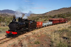 Pichi Richi in the pass (Aussie foamer) Tags: yx141 yxclass steamlocomotive sar southaustralianrailways pichirichirailway pichirichipass flindersranges southaustralia train railway locomotive