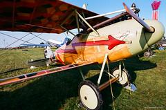 German WWI Albatros D.V (dpsager) Tags: 2018 airventure dpsagerphotography eaa eaaoshkoshairshow eos1v film fujisuperia100 oshkosh wisconsin aircraft airplane airshow osh18