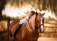 Soulmates (agirygula) Tags: horse horselove ponylove horsephotography fineart canon childphotography childfineart purelove pureemotions emotions ponyphotography moments feelings soulmates longhair children warm