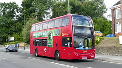 Another Day, Another Movement (londonbusexplorer) Tags: goahead london dennis trident adl enviro 400 e94 lx08ebp 353 forestdale ramsden estate tfl buses