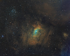 First Light Sky-Watcher Esprit 150mm NGC7635 HST (Terry Hancock www.downunderobservatory.com) Tags: skywatcher esprit150 qhy qhy16200 sky space astronomy astrophotography chroma astroimaging cosmos