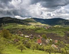 Zaseoci (Novica Alorić) Tags: village old traditional house rollinghills springtime mountain planina brdo weather landscape rural selo tip proleće