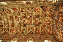 DSC_1259 (scsmitty) Tags: italy rome historic architecture art sistinechapel michelangelo cappellasistina ceiling