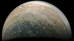 Jupiter - PJ10-38 (Kevin M. Gill) Tags: jupiter perijove10 juno junocam planetary science astronomy space
