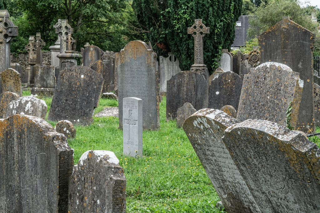 OLD CHURCHYARD KNOWN AS ST. JOHN'S [DUBLIN ROAD KILKENNY]-142913