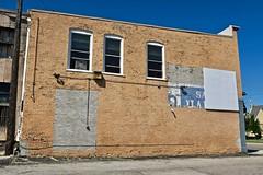 Partial Ghost Sign, Saginaw, MI (Robby Virus) Tags: saginaw michigan mi partial ghost sign signage painted ad advertisement brick wall