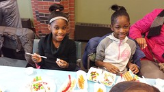 20161210_132832 (ypsidistrictlibrary) Tags: gingerbreadhouses gingerbread candy kids annual xmas christmas ydlwhittaker
