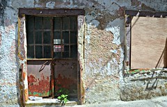 (plot19) Tags: textures wall old paint greece paxos plot19 photography street shot building