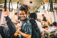 Jarell Green (Thomas Hawk) Tags: america bart bayarea jarellgreen oakland sfbart sfbayarea sanfrancisco usa unitedstates unitedstatesofamerica subway train california us fav10 fav25