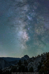 Half Dome Milky Way (Jaykhuang) Tags: halfdome yosemite yosemitenationalpark olmsteadpoint granite jayhuangphotography nightphotography
