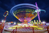 Fête foraine, Poitiers, France (֍ Bernard LIÉGEOIS ֍) Tags: fêteforaine funfair nuit night poselongue poselente longexposure couleurs colours lumières lights poitiers poitoucharentes manèges