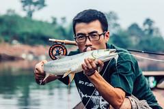 IMG_2530 (photogonia) Tags: cina pesca pescatore caught yellowcheek carp 鳡鱼 lure fishing bait lurefishing lake catch hunan xiangxi huaihua flyfishing