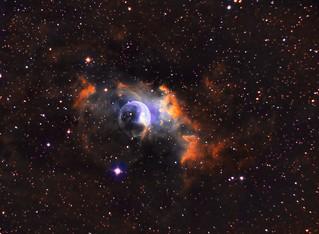 NGC 7635 - The Bubble Nebula in Narrow Band