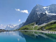 Eiger Nordwand / Berner Alpen (Aviller71) Tags: eiger jungfraujoch kleinescheidegg berneroberland berneralpen suisse switzerland schweiz mountains berge reflection