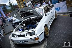Sierra Cosworth (sidrog28) Tags: car show carshow ne1 tvr toyota sigma supra sierra cosworth merc gts mclaren p1 hellcat hemi gtr skyline evo 10 aston martin vanquish