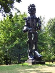 Eduardo Paolozzi, Vulcan, 1999 (paulineandjohng2008) Tags: eduardopaolozzi vulcan yorkshiresculpturepark