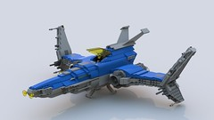 Modular Starfighter Classic (SceneGG) Tags: neo classic modular starfighter spacecraft lego space spaceship