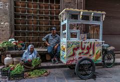 Street Photography - Street vendors in Old Cairo (Nadia Rifaat) Tags: street photography old cairo egypt vendors outdoor people man woman icecream nikon d5300 18140mm