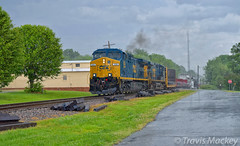CSX Q615-22 in Marshville (Travis Mackey Photography) Tags: csx q615 marshville nc monroe sub ac44cw clouds