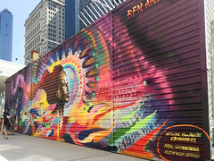 Lower Manhattan, New York (Quench Your Eyes) Tags: mural ny wtc worldtradecenter worldtradecenteranddowntownmanhattan containermall murals newyork newyorkcity nyc streetart urbanart lowermanhattan manhattan