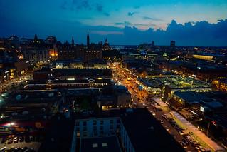 Ottawa Byward Market at dusk