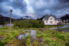 Thunder in Lofoten Islands / Norway (zilverbat.) Tags: noorwegen lofoten norway norwegian tripadvisor visit norwic norge zilverbat landscape outdoor clouds tourism tour travel trip hiking hike europe europa mountains fjords fjorden islands house fjord