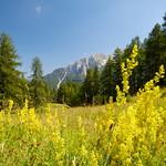 Mountain view in Slovenia thumbnail