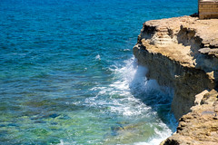 DSCF7406 (chalkie) Tags: gozo malta marsalforn saltpans salt seasalt