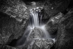 Endless flow (PeterThoeny) Tags: sunol california siliconvalley sanfranciscobay sanfranciscobayarea southbay sunolregionalwilderness park rock water waterfall light longexposure monochrome blackandwhite sony sonya7 a7 ii a7mii alpha7mii ilce7m2 fullframe fe2870mmf3556oss 1xp raw photomatix hdr qualityhdr qualityhdrphotography fav200