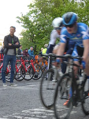 Flying past the camera (Steelywwfc) Tags: ovo energy tour series aberdeen spokes racing team one pro cycling