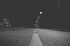 Road to the darkness (JSmith007) Tags: night street road traffic asphalt tree highway illuminated car urbanscene transportation dusk dark streetlight travel outdoors nopeople city nature landscape