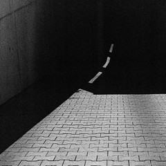 dashed line (yury shulhevich) Tags: dashedline dashed lightandshade intothedarkness path lightpath lightbending tmax4001600 expired nikonfm2 35mm film filmgrain filmistheway grainy analoguephotography blackandwhite bw noritsu ls600