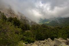 Passage nuageux / Cloudy episode [explored] (dbrothier) Tags: vivario corse fr 7dwf flickrcorsicaflickrcorse corsica canon6d eos6d lr clouds nuages landscape kalliste canonef1740mmf4lusm cascadedesanglais paysage vizzavone explore nwn