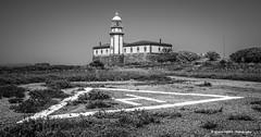 Ons Island lighthouse (Ignacio Ferre) Tags: isladeons ons onsisland galicia pontevedra españa spain faro lighthouse nikon paisaje landscape airelibre bw blancoynegro blackwhite blackandwhite monocromo monocromático monochrome
