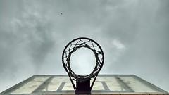 Mobile shot of a basketball court (ShyamK2018) Tags: basketball sky awesome