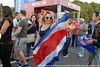 Costa Rican girl (maxilla-k) Tags: soccer moscow футбол москва девушка спорт