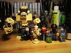 The Club of Exemplary Nice Persons (Lord Allo) Tags: the league of extraordinary gentlemen doctor jekyll mister hyde alan quatermain mina harker captain nemo griffin invisible man lego