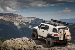 Imogene Pass (Fire_For_Effect) Tags: toyota fj cruiser fjsummit 2018 12 ouray telluride colorado usa united states co 4x4 offroad scenic mountain sky mining road summit imogene pass lets go places