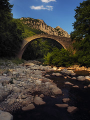 PYLI old bridge (asamoal2) Tags: river bridge old vintage stream trees green woods nature out outside explore water sky sclouds stones rocks clouds outdoor mountain brook ngc