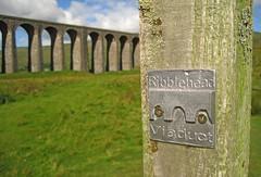 Ribblehead Viaduct (RoystonVasey) Tags: canon digital ixus 95 is north yorkshire dales ydnp settle carlisle railway ribblehead summer